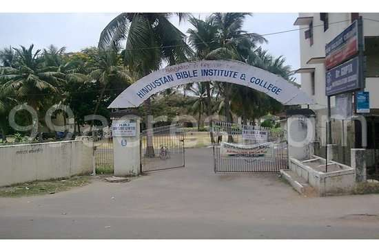 Hindustan Bible Institute And College