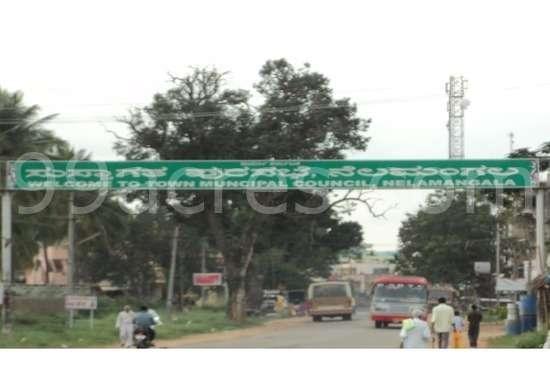 Entrance To Nelamangala