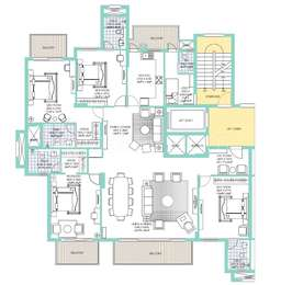 4 BHK, Residential Apartment in Sector-109 Gurgaon