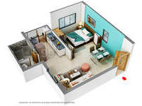 1 BHK,  Residential Apartment in Mahindra City