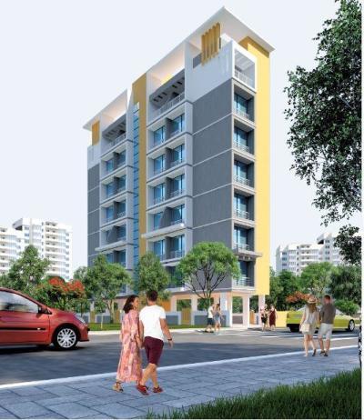 ₹ 58 Lac, 2 bhk Residential Apartment in Dronagiri - Building