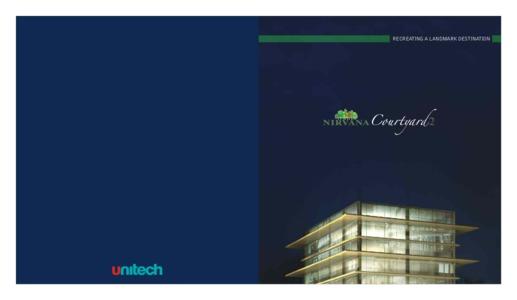 Unitech Nirvana Courtyard 2 Brochure